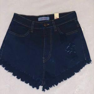 Vibrant MIU OWO S deep dye high waist short
